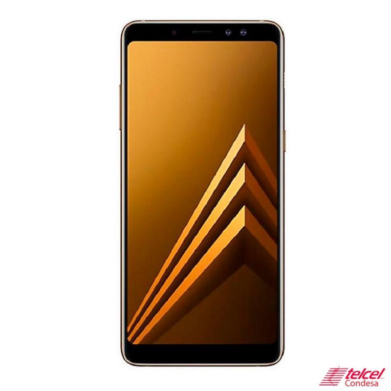 Galaxy-A8-plus-Dorado-64GB