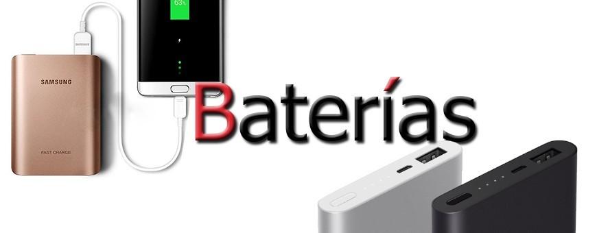 Baterías externas para teléfonos celulares.