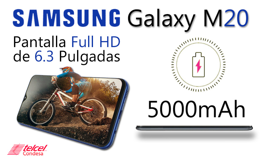 Samsung M20 batería