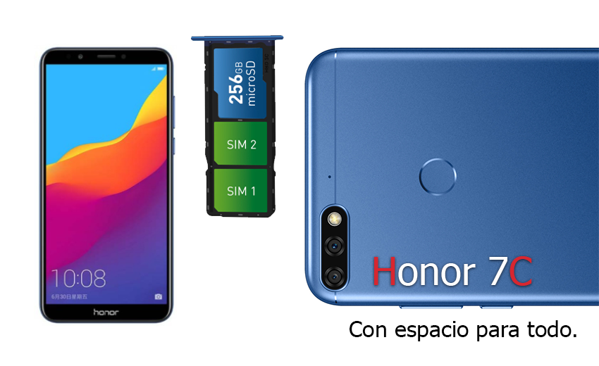 Huawei-Honor-7C-doble-ranura