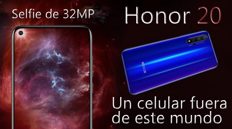 Honor 20 fuera de este mundo