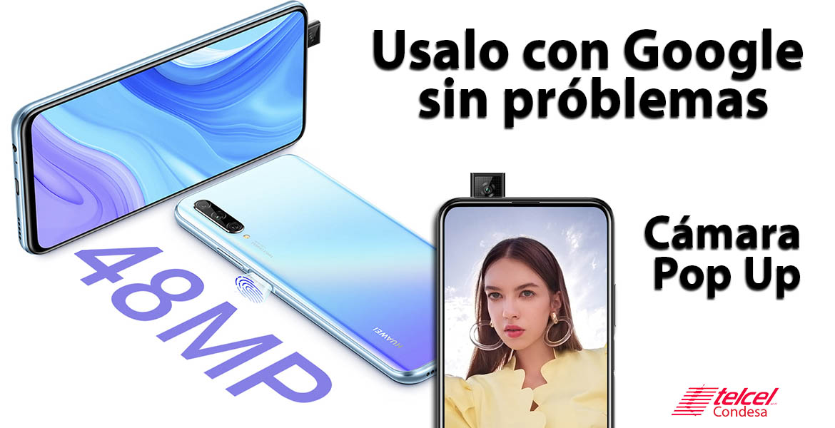 Huawei Y9S cámara pop up
