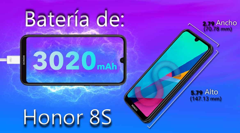 Honor 8S características