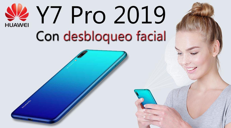 Y7 Pro 2019 desbloqueo facial