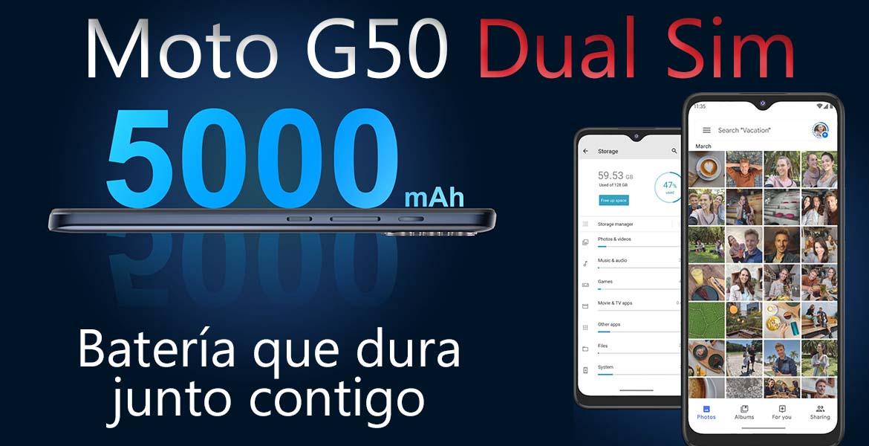 Moto G50 5G características
