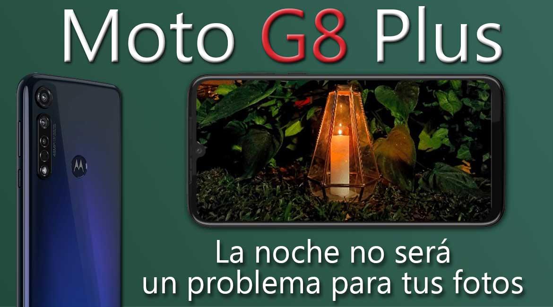 Moto G8 Plus modo noche