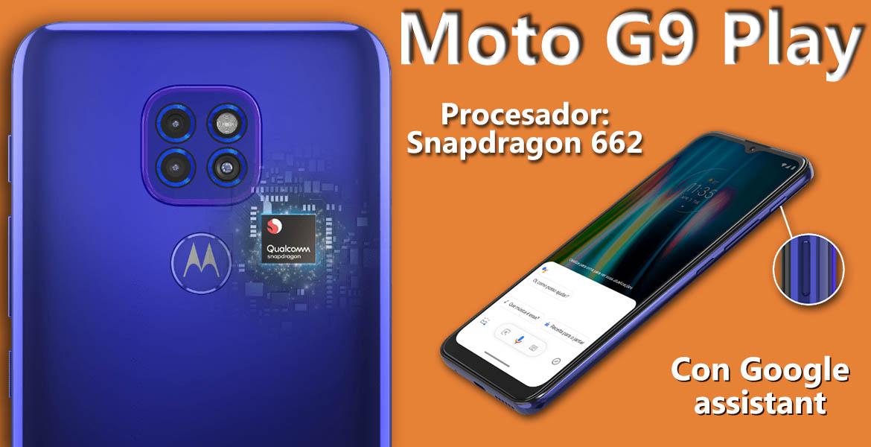 Motorola Moto G9 Play características