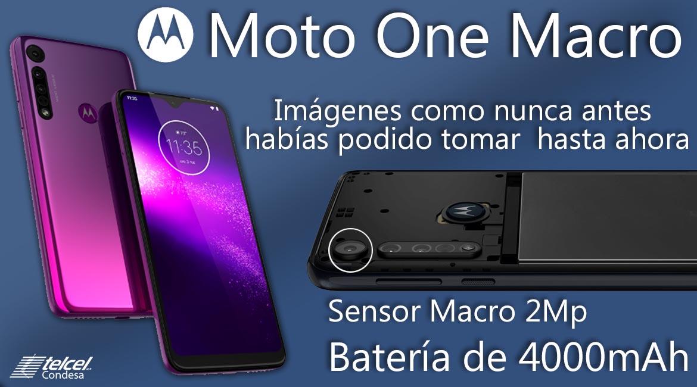 Moto One Macro características México