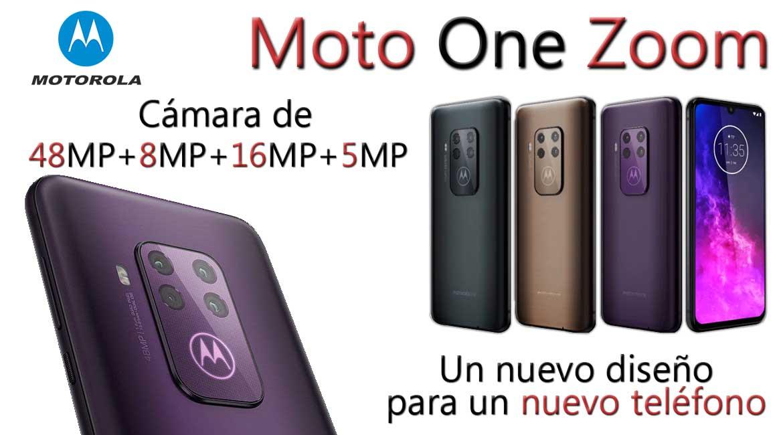 moto one zoom un nuevo teléfono