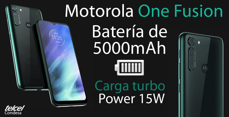 Moto one fusion precio