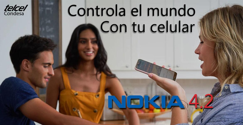 Controla el mundo con tu Nokia 4-2
