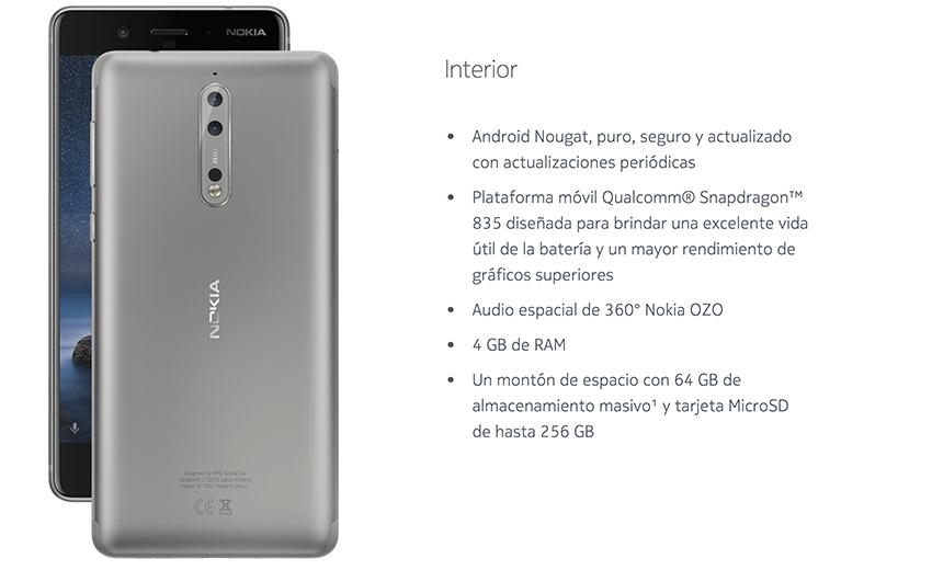 Nokia-8 -Dual -Sim