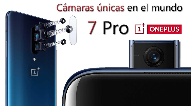 7 pro con cámara unicas