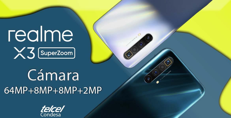 Realme X3 SuperZoom características