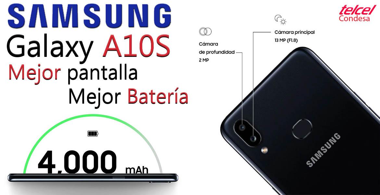 Galaxy A10s Mejor batería