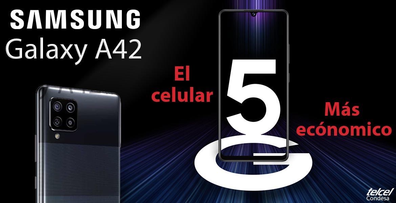 Galaxy A42 características y precio