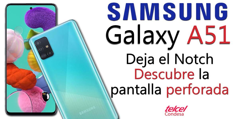 Galaxy A51 caracteristicas