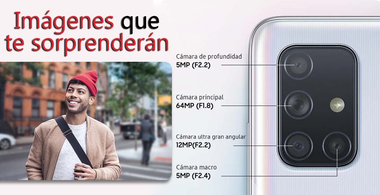 Samsung Galaxy A71 te sorprendera