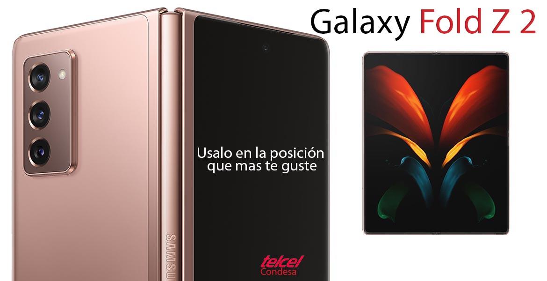 Galaxy Z fold 2 México