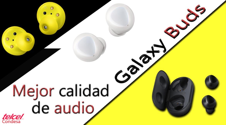 audio de calidad galaxy buds