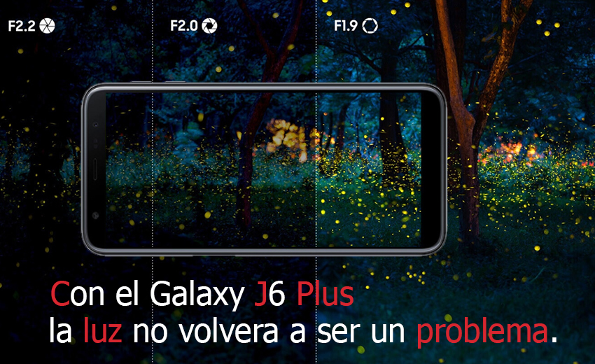 Samsung-Galaxy-J6-Plus-cámara