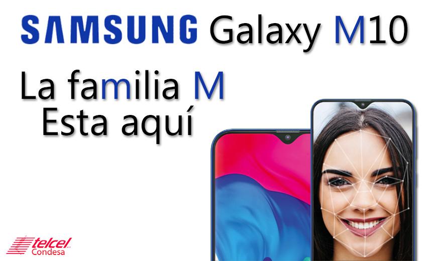Samsung M10 características