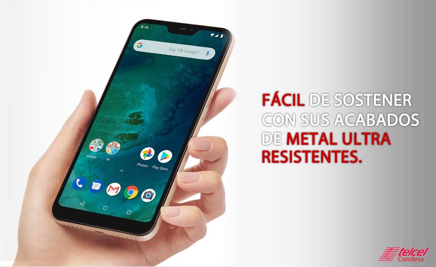 Xiaomi-Mi-A2-Lite-Fácil-de-usar