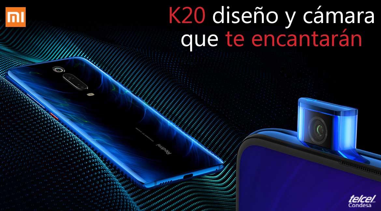 Xiaomi K20 camara y diseño