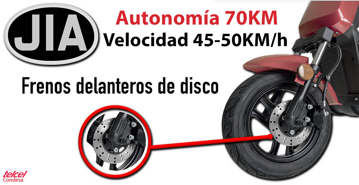 moto electrica frenos de disco